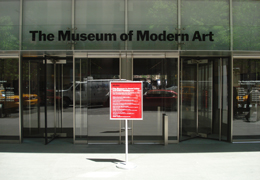 Picture of the Modern Art Museum in New York City