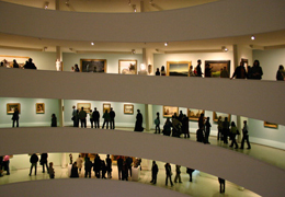 Picture of the Guggenheim Museum in New York City