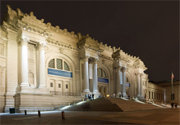 Picture of the Metropolitan Museum of Art in New York City